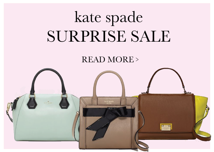 The Kate Spade Surprise Sale - Racheal Jade